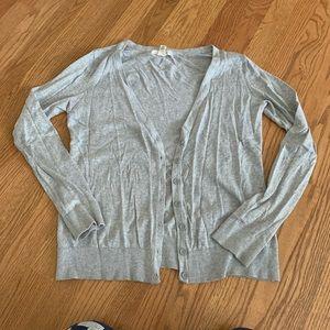 Forever21 grey cardigan